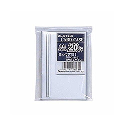 【2セット販売】レイメイ/アルミカードケース 20枚用/CHA480/4902562287621