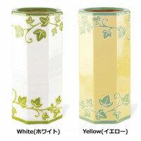 Kishima リーフ アンブレラスタンド White KH-60878 / 陶器の質感とカラーが爽やかなアンブレラスタンド。