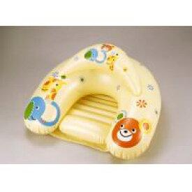 お座り練習チェア ORC-YE / 赤ちゃんのお尻がすっぽり!前倒れを防止する練習チェア!