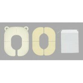 サンコー 折りたたみ式補助便座 / お出かけに便利!お子様用折りたたみ式補助便座!