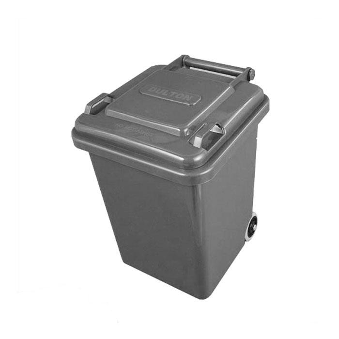 【 DULTON PLASTIC TRASH CAN 18L GRAY 100-195GY 】 ゴミ箱 ダストボックス ふた付 キャスター付 おしゃれ シンプル キッチン ダルトン プラスチック トラッシュカン 18リットル グレー