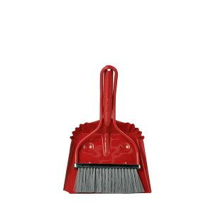 【 DULTON SON OF SMILLY RED 100-168RD 】 ほうき&ちりとりセット ほうき 箒 ちりとり 塵取 おしゃれ かわいい 掃除 ダルトン サン オブ スマイリー レッド