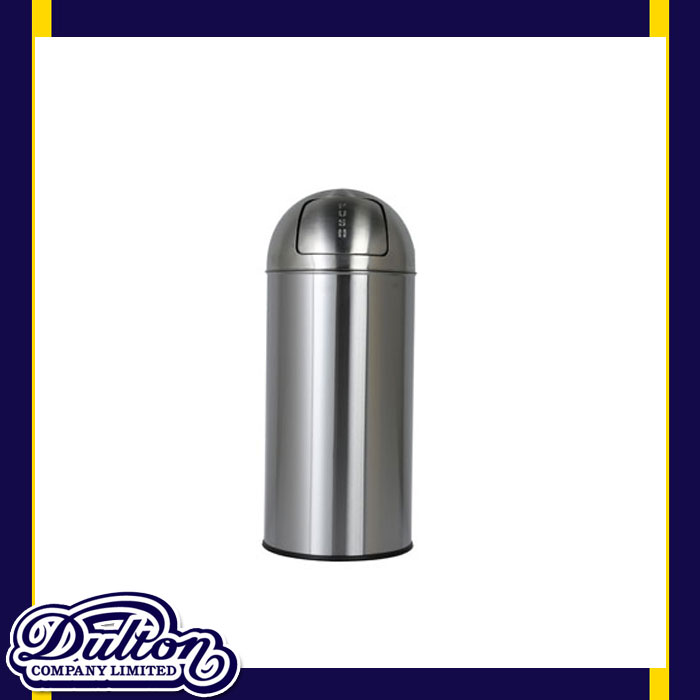 【 DULTON DUST BIN SATIN FINISHED 25L K555-425-25 】 ゴミ箱 25リットル ふた付き おしゃれ スリム ダストボックス ステンレス ペダル 無し ダルトン ダストビン サテン フィニッシュ 25L