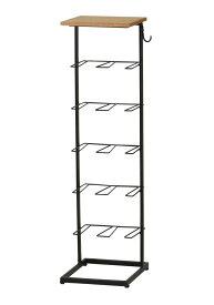 ウェルク シューズラック WELK-SHR945(BK) / ブラック / 4933178116029 弘益 / 収納家具 玄関収納 シューズラック