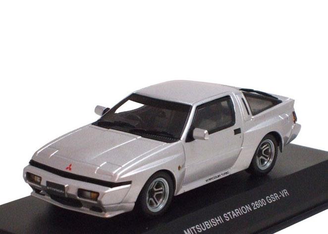 京商オリジナル 1/43 三菱 スタリオン GSR-VR (シルバー) 【 ミニカー 1/43 三菱 】 おもちゃ ホビー 趣味 コレクション