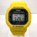 G-SHOCK ジーショック CASIO カシオ 腕時計 DW-5600 初期 イエロー スクリューバック スピードモデル デジタル クォー…