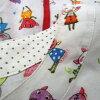 Higashiosaka shop made in OLLEBOREBLA Al vero vero OLLEBOREBLA レボレブラワンピースチュニック short sleeves skirt white multi-Lady's 615657 Japan