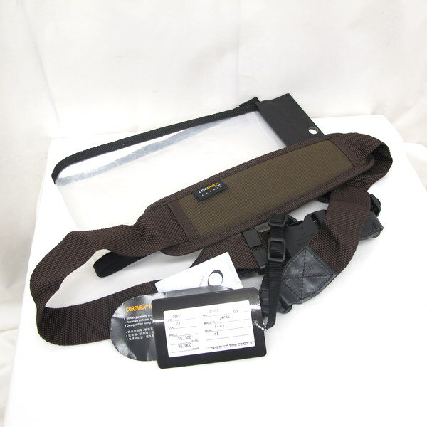 MSPC PRODUCT master-piece マスターピース カメラコード ストラップ 01697 ブラウン レザー 23 メンズ レディース タグ 袋付き 日本製 ギフト 東大阪店【Aランク】