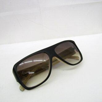 FILTRATE フィルトレイト glasses eyewear sunglasses MAYHEM May heme model collaboration black brown gradation men box preservation bag Higashiosaka store