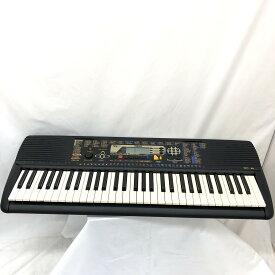 YAMAHA ヤマハ 電子キーボード PSR-195 ブラック 61鍵盤 電子ピアノ シンセイザー 鍵盤楽器 アダプター付き T東大阪店【中古】