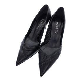 DIANA ダイアナ ポインテッドトゥパンプス レディース 靴 シューズ 22.5cm 日本製 三国ケ丘店 ITPWUIVS4MJ4 【中古】 RM1833D
