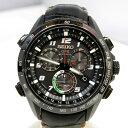 SEIKO セイコー アストロン 腕時計 Ref.SBXB037 ジウジアーロ デザイン 5000本限定 8X82 ブラック メンズ ソーラー GPS 衛星電波修正機能 メタルバンド レザーバンド 日