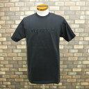 Supreme シュプリーム Tシャツ 16ss TONAL EMBROIRED TEE BLACK ブラック 黒 半袖 Mサイズ メンズ トップス 2016年 春…