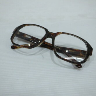 Tortoiseshell pattern brown system OLD men gap Dis Mikunigaoka shop 396908 RM1521N made in Japan which there is no EVA GOLD Eve gold VINTAGE glasses glasses frame degree in