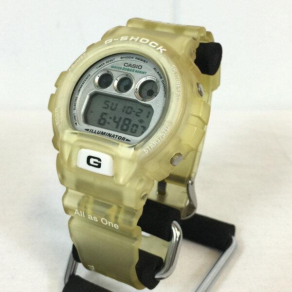 G-SHOCK Gショック DW-6900K-8BT イルカ・クジラ イルクジ クリア 腕時計 三つ目 フロッグマン スケルトン メンズ 貝塚店 383881 【中古】 RK637U