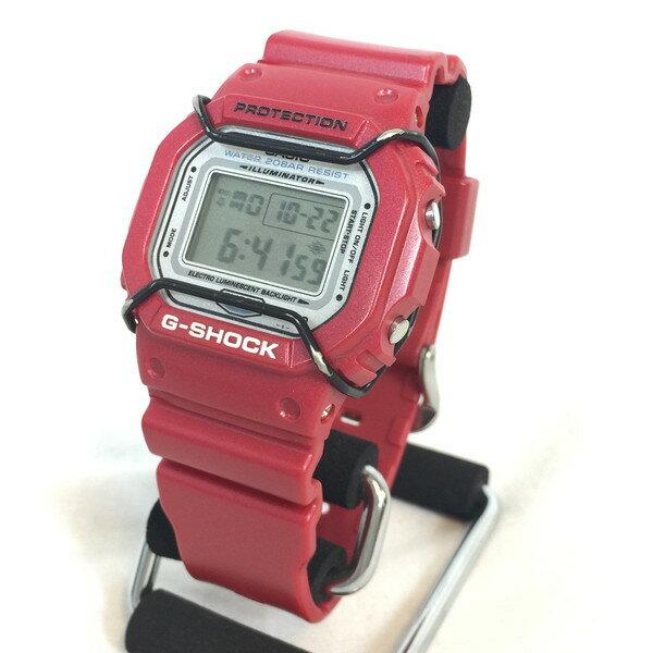G-SHOCK G-ショック METALLIC-G DW-5600GF-4AJF メタリックG FRF シグネチャーモデル 波乗人 レッド 赤 RED Gショック 腕時計 ウォッチ メンズ 貝塚店 383980 【中古】 RK640U