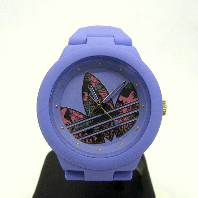 adidas アディダス 腕時計 ADH3016 アバディーン クオーツ パープル レディース カジュアル 箱付き 美品 東大阪店 281796【中古】 RY0377