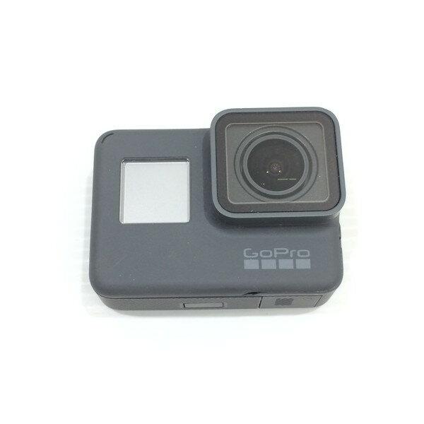 GoPro ゴープロ HERO6 カメラ 小型 アクションカメラ 防水 セット 本体 3Way 自撮り棒 アクセサリー グレー 三国ヶ丘店 849915 【中古】 RM3208