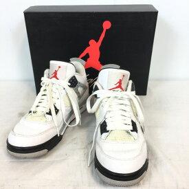 891736c83c7 NIKE ナイキ AIR JORDAN 4 RETRO OG 840606-192 スニーカー クツ 靴 くつ ホワイト 白