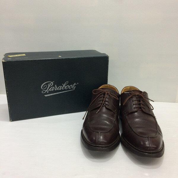 Para boot パラブーツ レザーシューズ 靴 シューズ ローファー ブーツ ブラウン メンズ 8.5 フランス製 三国ヶ丘店 353091 【中古】 RM1160T