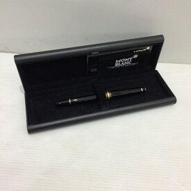 MONT BLANC モンブラン 万年筆 箱付き ペン ボールペン ブラック ゴールド メンズ 未使用 三国ヶ丘店 431539 【Aランク】 【中古】 RM1354T