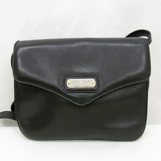 fine quality dirt cheap top-rated fashion Is CELINE Celine one shoulder bag clutch bag 2WAY black plain fabric black;  is about to lick it; Higashiosaka shop 358436 RYB3712 made in crossbody ...