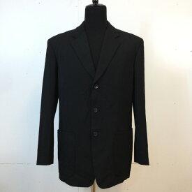 Yohji Yamamoto Pour Homme ヨウジヤマモト プールオム 3Bテーラードジャケット 80s 80年代 Jacket ブラック black 黒 メンズ M 日本製 貝塚店 492934 【中古】 RK876G