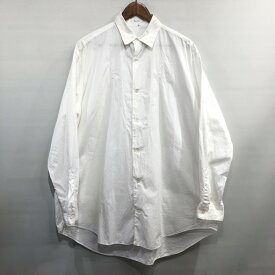 Y's for men ワイズフォーメン 花刺繍カットワークオーバーサイズシャツ Yohji Yamamoto Pour Homme ヨウジヤマモトプールオム ビッグシルエット ブラウス トップス ホワイト メンズ 三国ヶ丘店 564091 【中古】 RM0683I