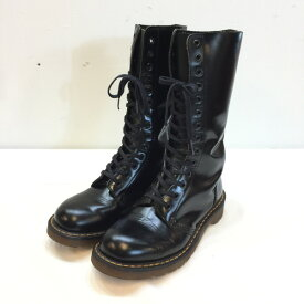 Dr.Martens ドクターマーチン 14ホールブーツ Boots クツ 靴 ブラック black 黒 レディース UK4(約22.5cm) 英国製 貝塚店 917987 【中古】 RK1861G