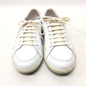 Pantofola d'Oro パントフォラドーロ レザーシューズ スニーカー 靴 26.5cm ホワイト メンズ 42 イタリア製 三国ヶ丘店 740211 【中古】 RM1063D