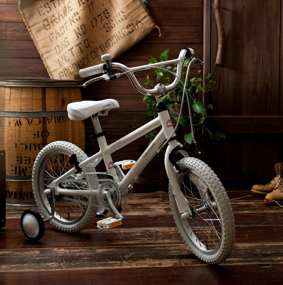 【完全組立】子供用自転車 16インチ 2018 ◆arcoba◆アルコバ 子供用自転車 幼児車  TEKTROブレーキ・ホワイトパーツ ハイクオリティー 子供用自転車 補助輪付 子供  可愛い  注目 完全も選べる★元