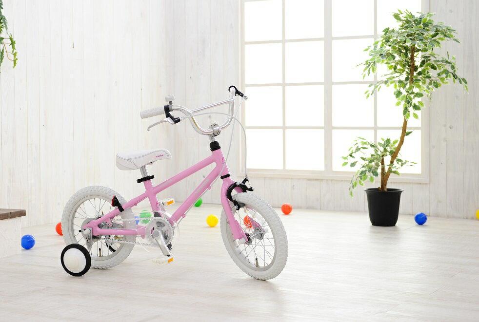 【簡易組立なので特別価格】子供用自転車 14インチ 2018 ◆arcoba◆アルコバ 子供用自転車 幼児車 TEKTROブレーキ・ホワイトパーツ ハイクオリティー子ども用自転車 補助輪付 子供  可愛い  注目
