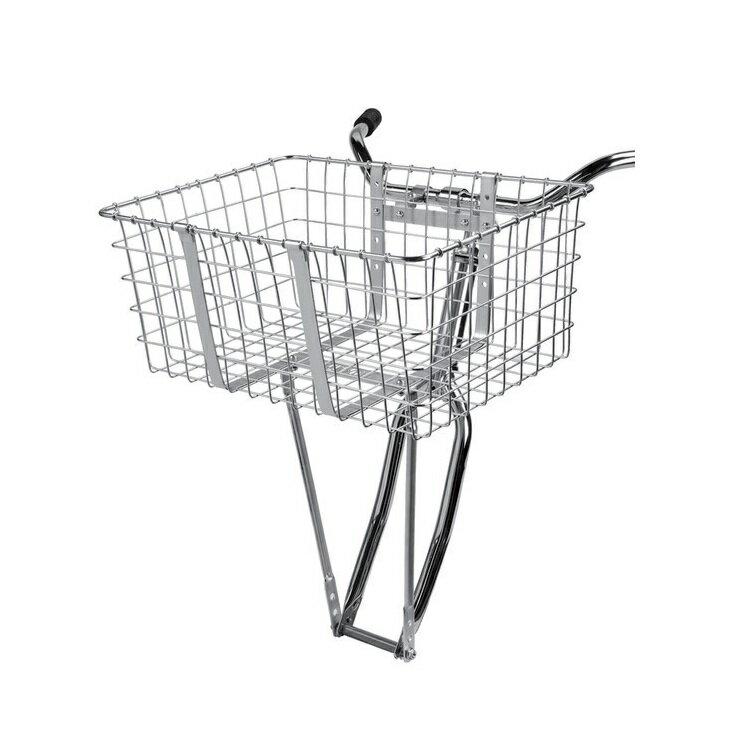 【送料無料】自転車用 前カゴ WALD 157 Giant Delivery Basket 自転車 重い荷物を積めるビッグサイズ