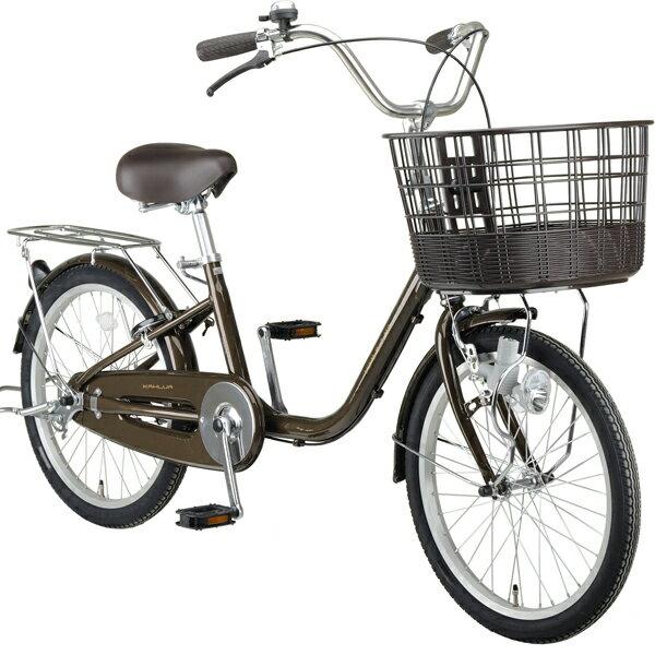 カルーアアルミ軽快車200(ブラウン・ベージュ・ワイン)キャプテンスタッグ YG-0344 大人 用 三輪車 自転車 ミニサイクル おしゃれ シニア お買い物に最適 大人用三輪車を探されている方にもオススメ プレゼント