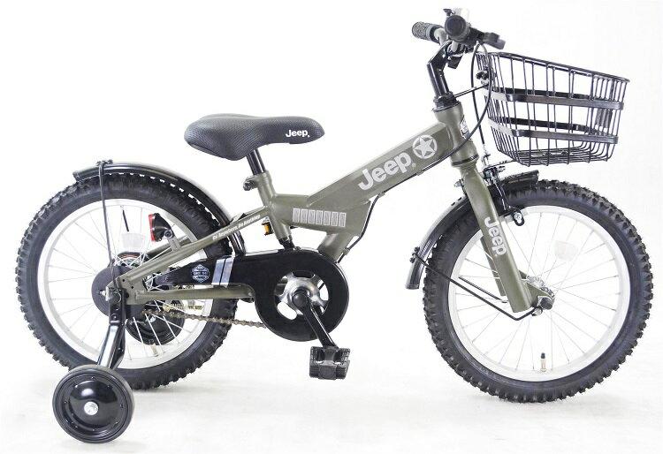 2019年モデル【手押し棒同梱プレゼント】 BAA対応 JEEP(ジープ) BMXタイプ 16インチ 子供用自転車 幼児車自転車BRA プレゼント 可愛い 子供キッズ 注目