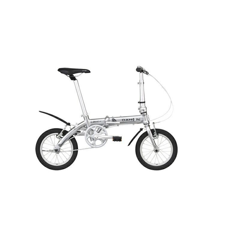 新モデル 専用輪行バッグプレゼント DAHON 2017 Dove Uno 14インチ ダヴウノ ダヴ ウノ シルバー 折りたたみ自転車 プレゼント 可愛い 子供 おしゃれ