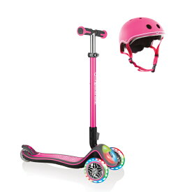【ヘルメット・プロテクターセット】GLOBBER エリート ELITE フラッシュ スクーター キックスケーター キックボード ライダー プレゼント 子供用 キッズ スケートボード トレーニング 誕生日 送料無料