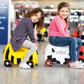 trunki ライドオン・トランキ キッズ スーツケース トランキ 【DADWAY 正規代理店】 プレゼント 可愛い 子供 ベビー+8
