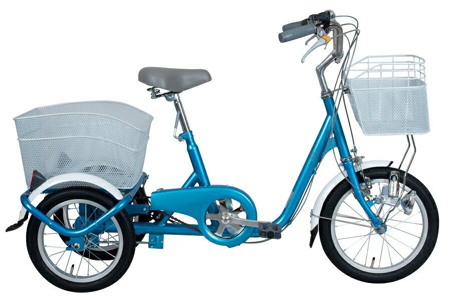 【ポイント5倍】◆ロータイプ 大人用三輪車 16インチ スイングチャーリーMG-TRE16SW 【あす楽】プレゼント 可愛い 子供