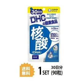 【送料無料】 DHC 核酸 DNA 30日分 (90粒) ディーエイチシー サプリメント 核酸 ビタミンB RNA 健康食品 粒タイプ