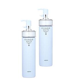 【2個セット】【送料無料】 ALBION エクサージュホワイト ピュアホワイト ミルク II 200g ×2セット(ノーマルスキン用) EXAGE 乳液 スキンケア おすすめ乳液 化粧水 シミ ソバカス 美白 UV対策 基礎化粧品