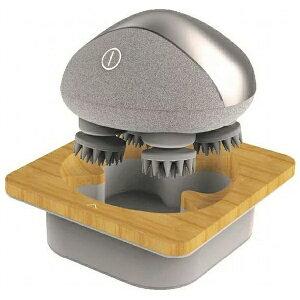 breo Scalp mini BRS2100H ブレオ BRS2100H(グレー) breo Scalp miniヘッドスパ 王様のブランチで紹介 頭皮エステ 血行促進 ヘッドスパ セルフ 防水設計 天然素材