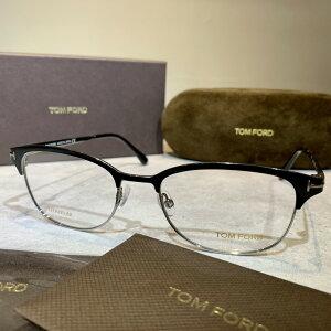 【送料無料】【正規品・新品】TOMFORD トムフォード TF5381 FT5381 005 ブロー スクエア 黒 マットブラック イタリア製 サングラス メガネ 眼鏡 メンズ レディース TOM FORD トム フォード 伊達メガネ