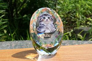 メモリアル ペット位牌 ペット仏具 【エッグカラー】サイズS 位牌 仏具 思い出 犬 猫 小動物 写真 供養 記念品