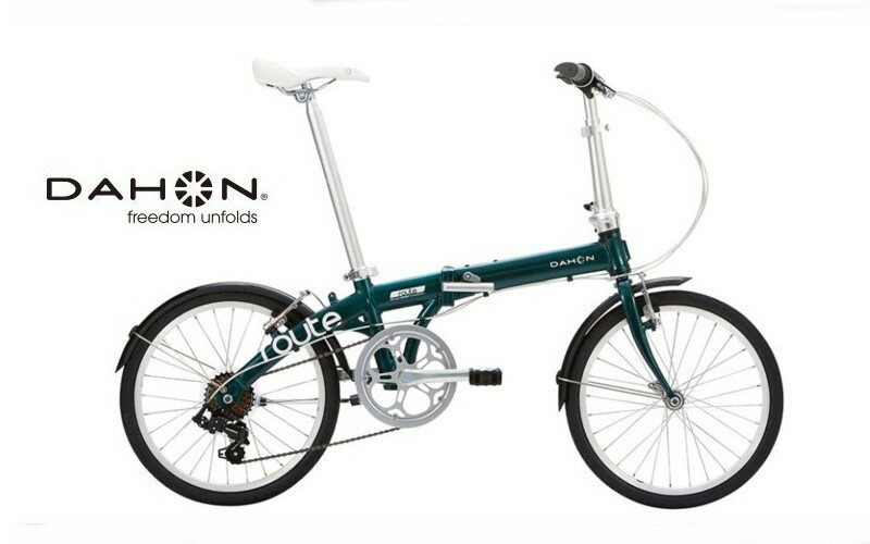 "DAHON(ダホン) Route ""ルート"" 2018モデル 【送料無料】 折りたたみ自転車 20インチ"