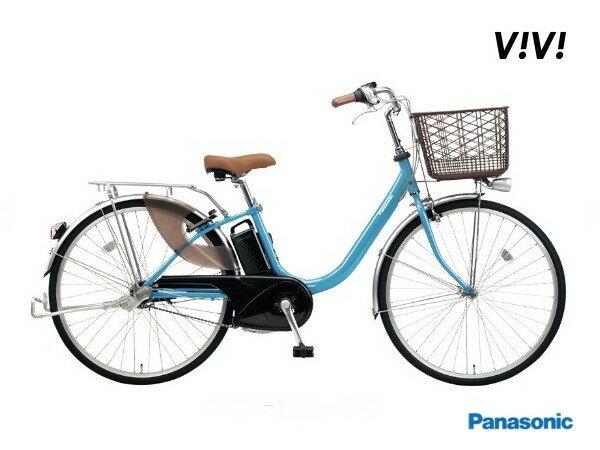 ビビLU パナソニック 電動アシスト自転車 2018モデル BE-ELLU432/BE-ELLU632 12.0Ah 【送料無料】