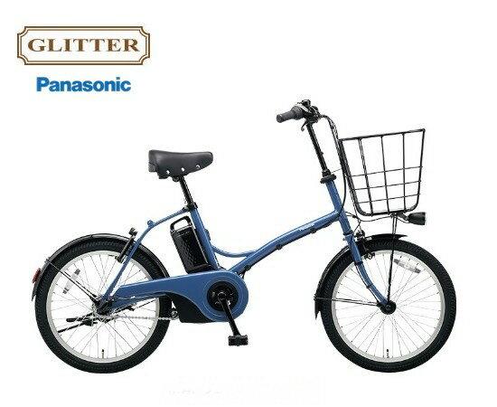 "GLITTER ""グリッター"" パナソニック 電動アシスト自転車 BE-ELGL033 12.0Ah"