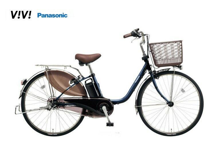 ビビDX パナソニック 電動アシスト自転車 2018モデル BE-ELD434 BE-ELD634 【送料無料】【購入特典付き】