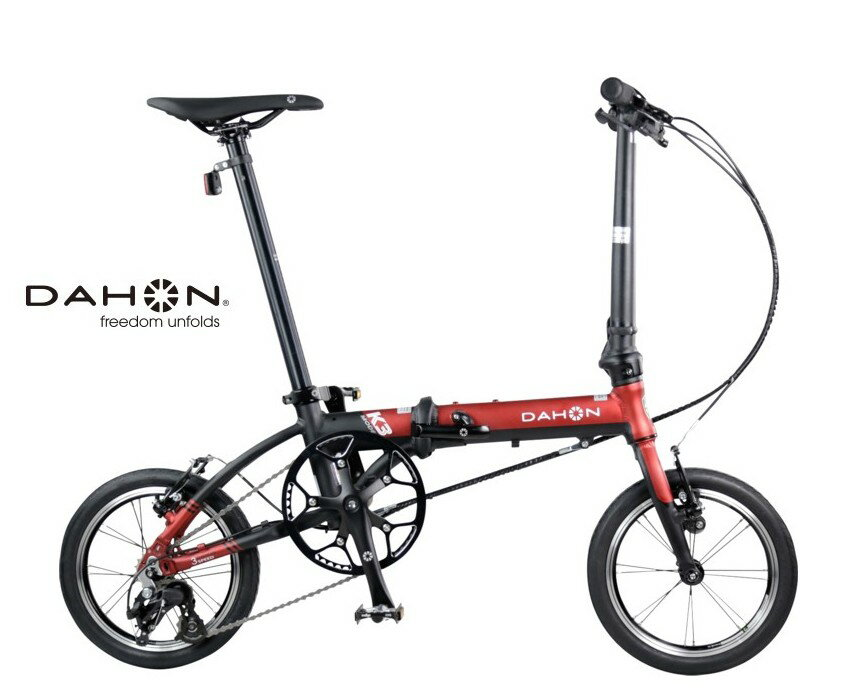 DAHON(ダホン) K3 【送料無料】 折りたたみ自転車 フォールディング 14インチ