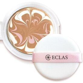 【送料無料】 ECLAS ファンデ (リフィル ・ パフ) 選べる2色 エクラス セラム ファンデーション ECLAS Serum foundation 美容液ファンデ 多機能 韓国 カバー力 母の日 母の日プレゼント ギフト 母の日2021 花以外